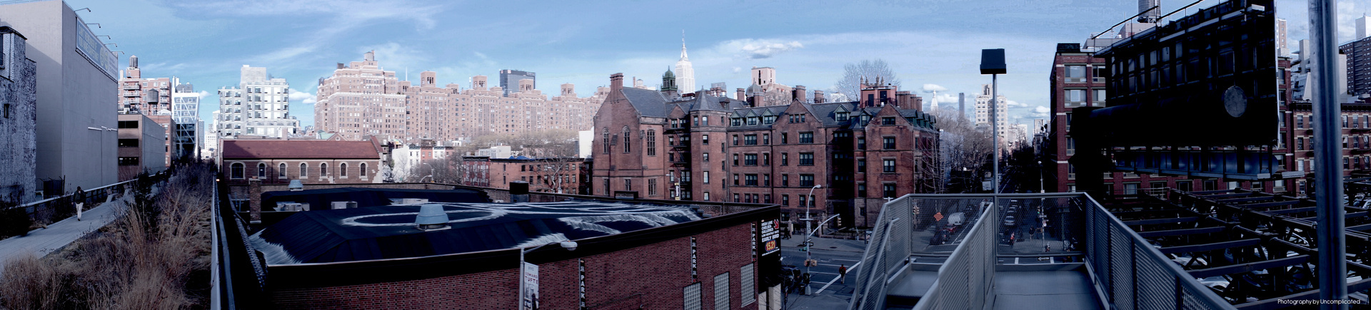 View from the Highline NYC