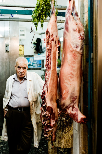 Butcher in Bethlehem