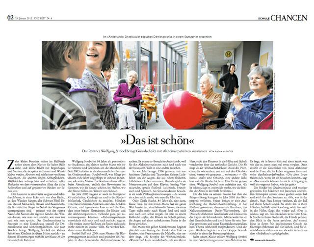 Die Zeit 19.01.2012