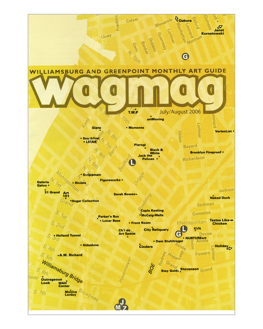 Wagmag, Williamsburg and Greenpoint Monthly Art Gu
