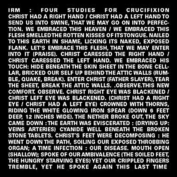 Four Studies For Crucifixion EP