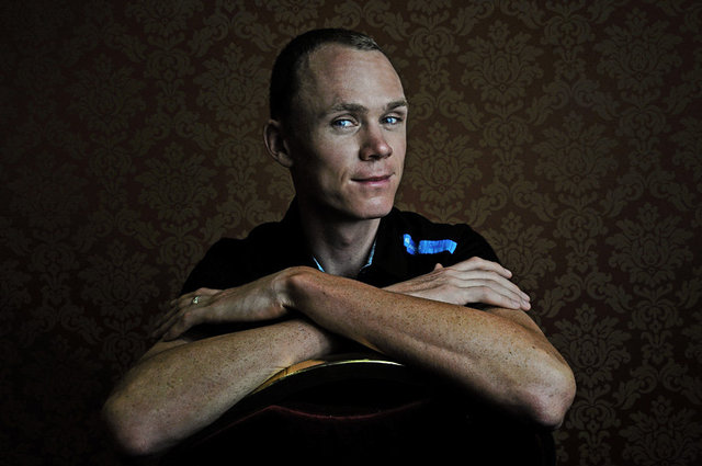 Christopher Froome, cycliste