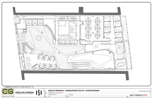 HSBC Bermuda - L2 General Arrangement Plan