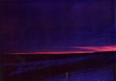 Violet Sunrise 2 by Alison Gracie