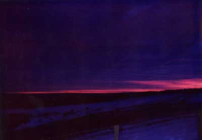 Violet Sunrise 2 by Alison Gracie