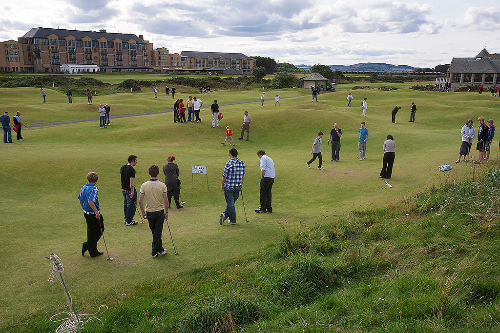 St Andrews putting