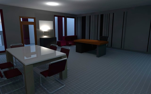Concept visual -  Chief Inspector Office