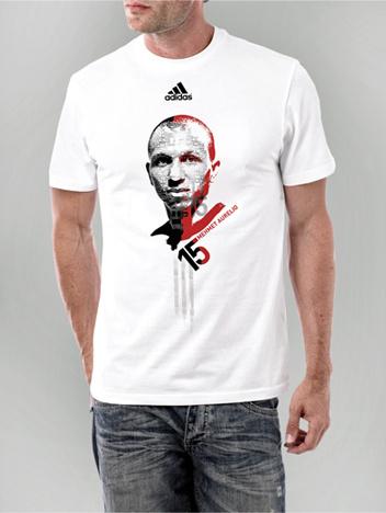 Adidas - Mehmet Aurellio T-shirt design