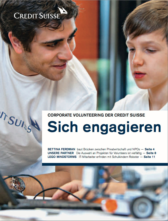 CS Sonderbeilage Volunteering 2012