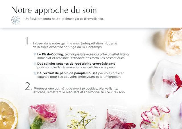 """<font color=""""#aaa7a6"""">Dr. Bontemps : plateforme de marque (4/20).</font>"""