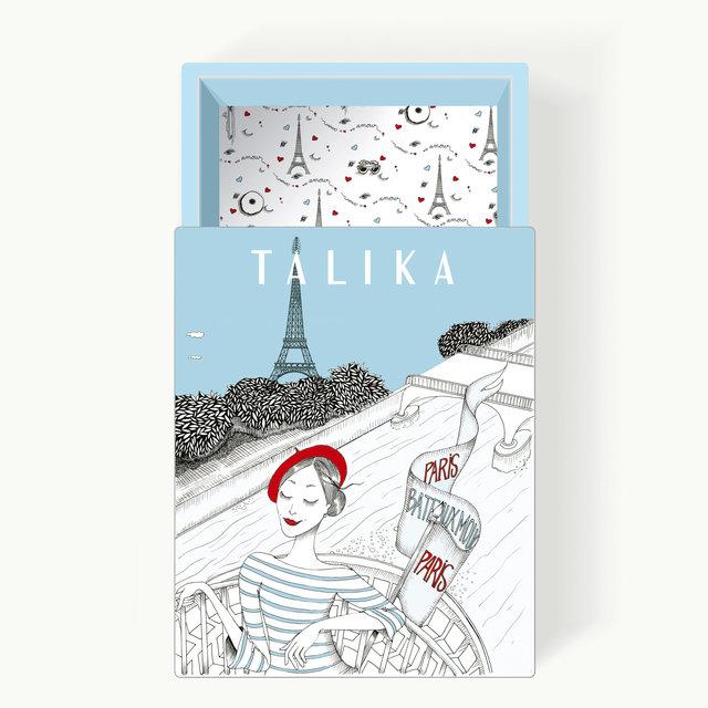 """<font color=""""#aaa7a6"""">Boite cadeau, La Parisienne (2/4).</font>"""