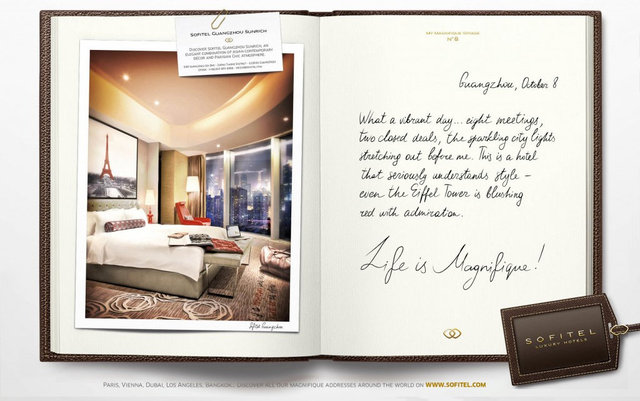 """<font color=""""#aaa7a6"""">Annonce, double page.</font>"""