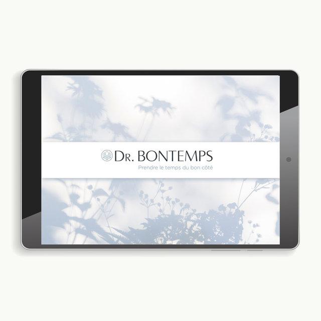 """<font color=""""#aaa7a6"""">Dr. Bontemps : plateforme de marque (1/20).</font>"""