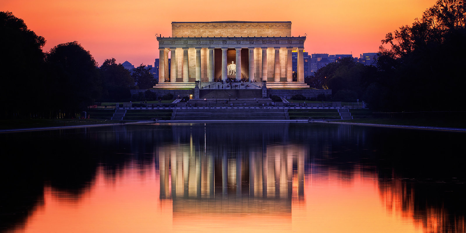 Lincoln Memorial: Washington DC: USA
