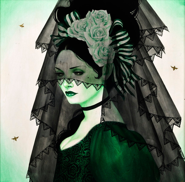 Green Mantilla