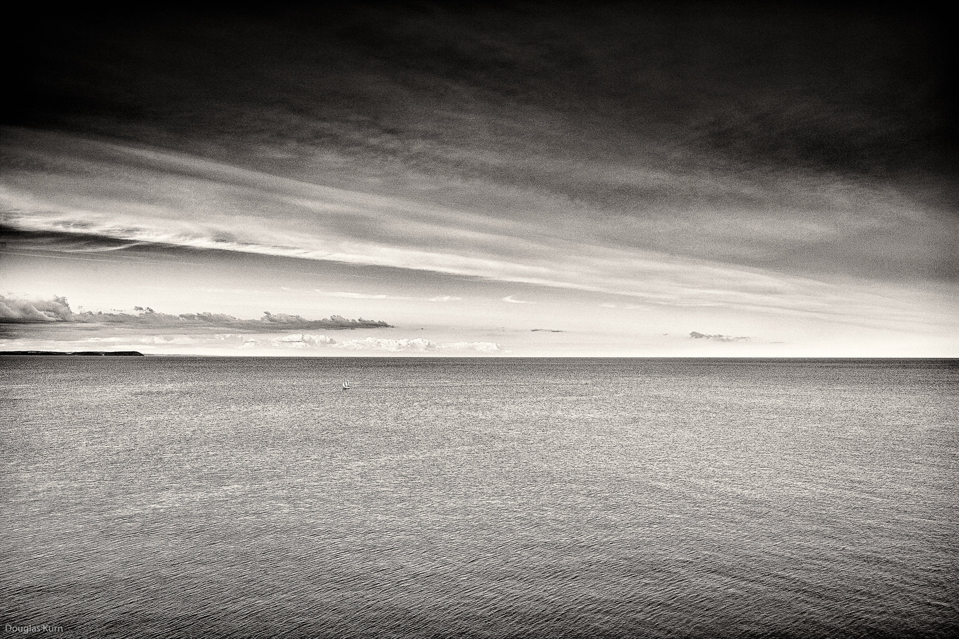 Yacht Off Cornwall