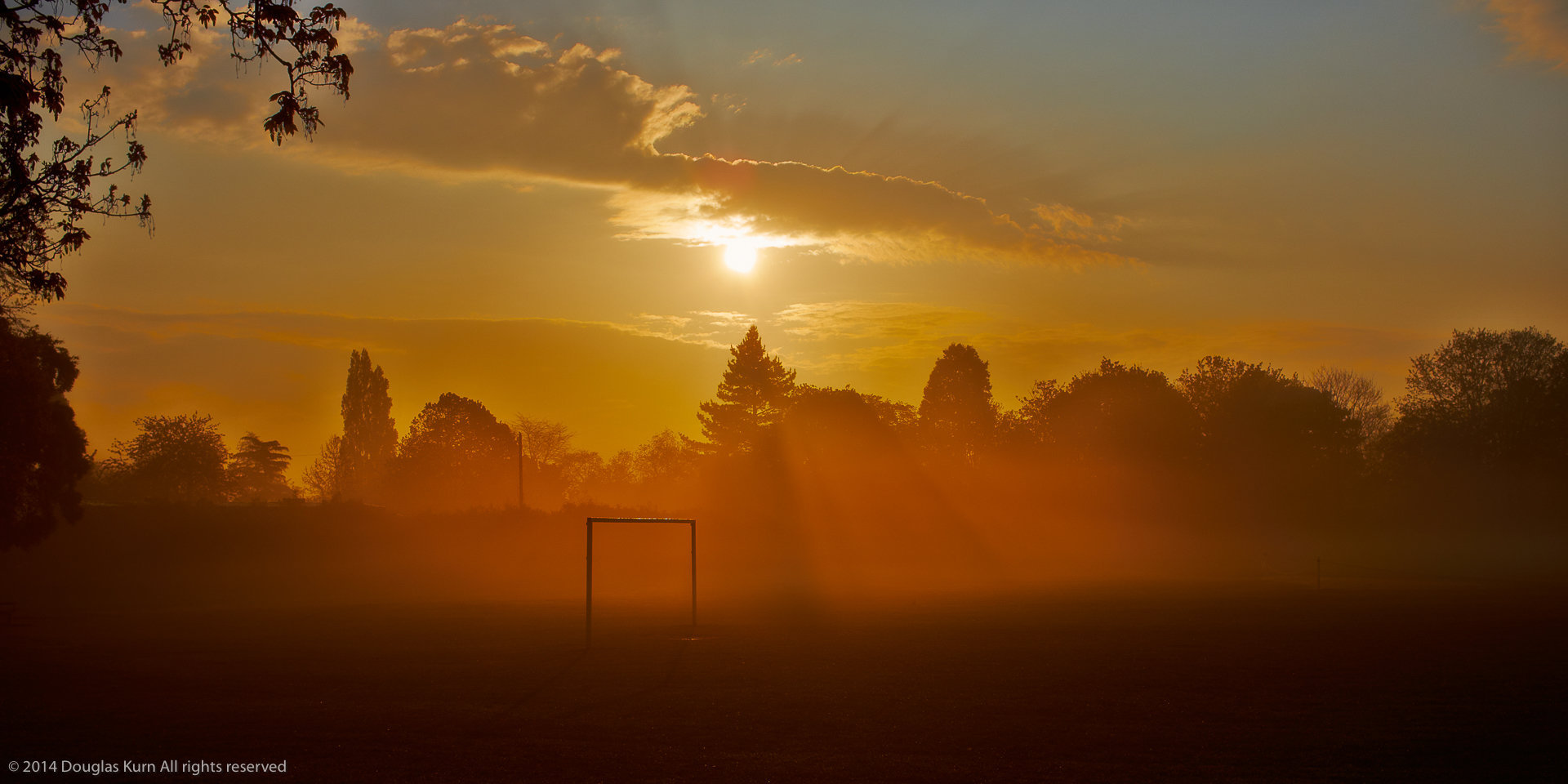 Misty Goal Posts