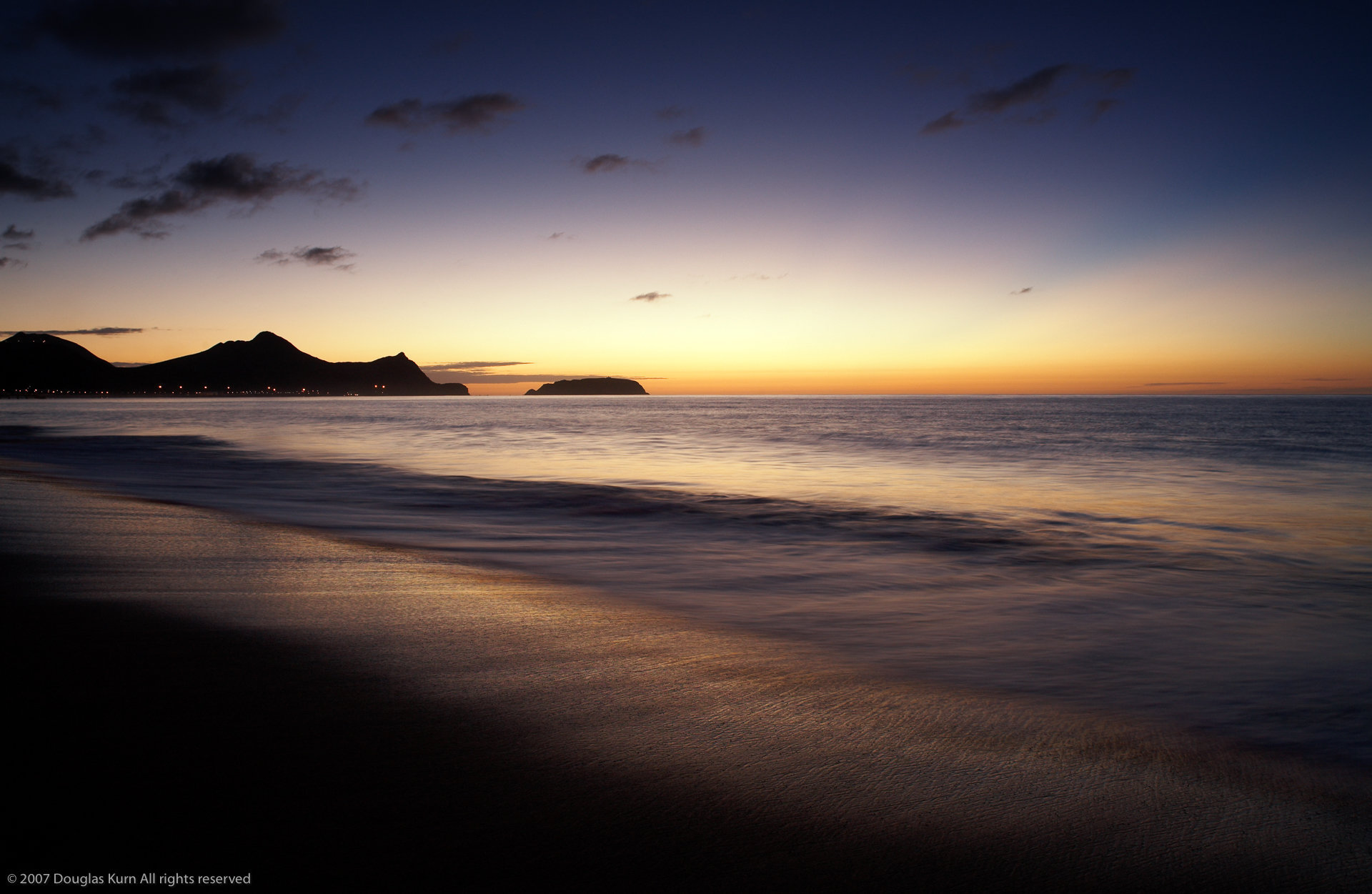 Sunrise in Porto Santo