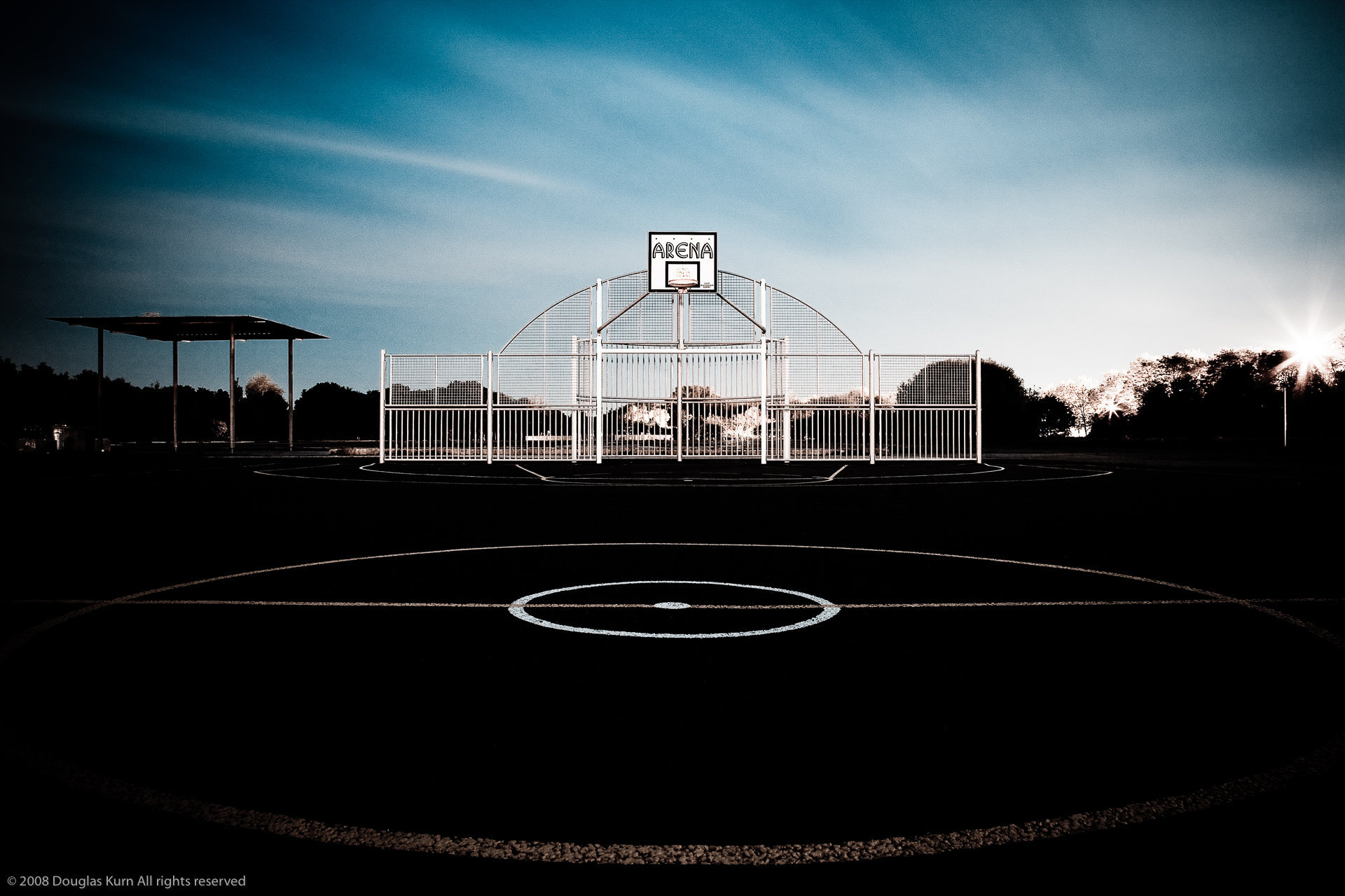 Brooklands Basketball Court