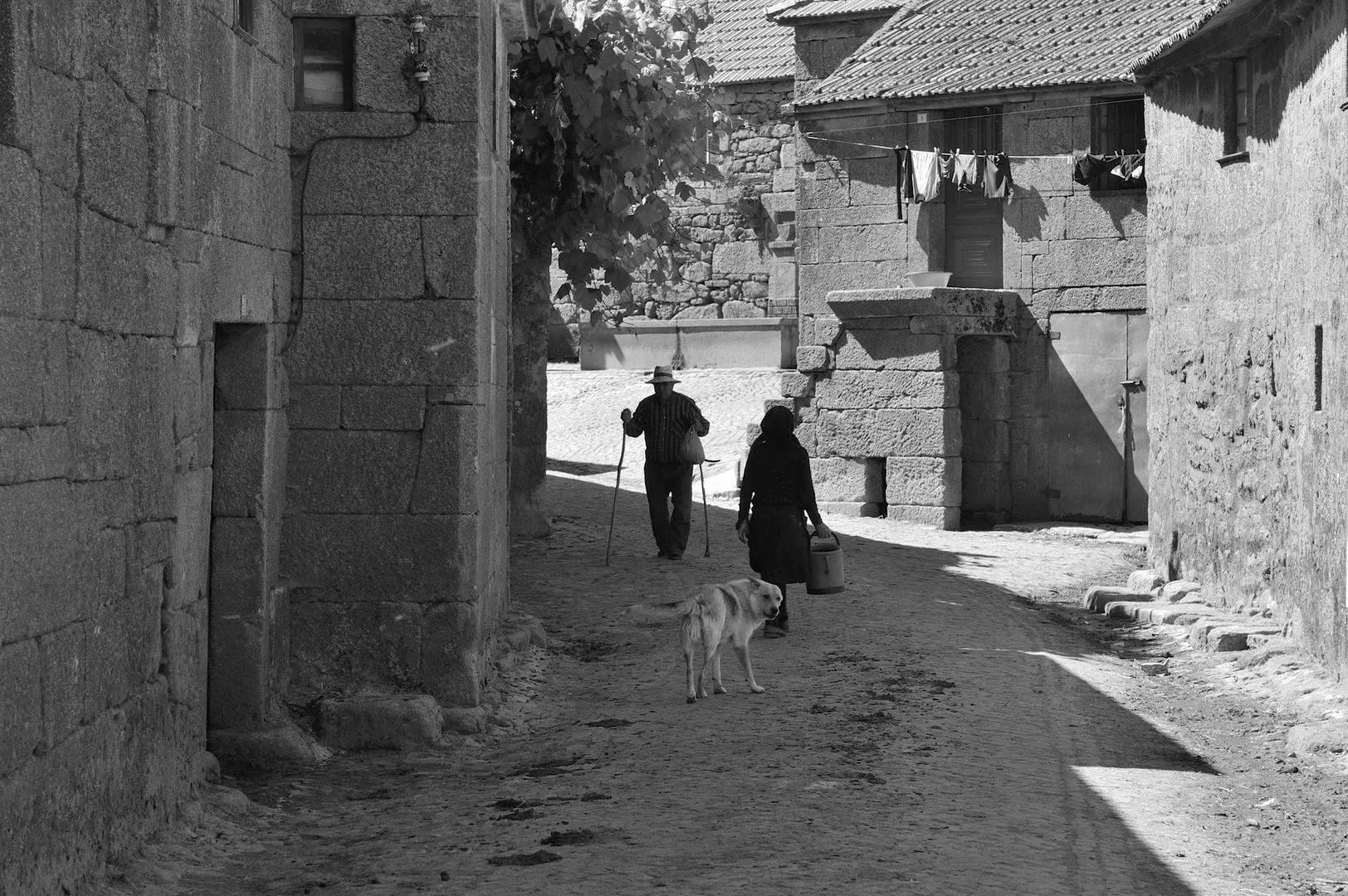 Village des Tras-os-Montes, Portugal