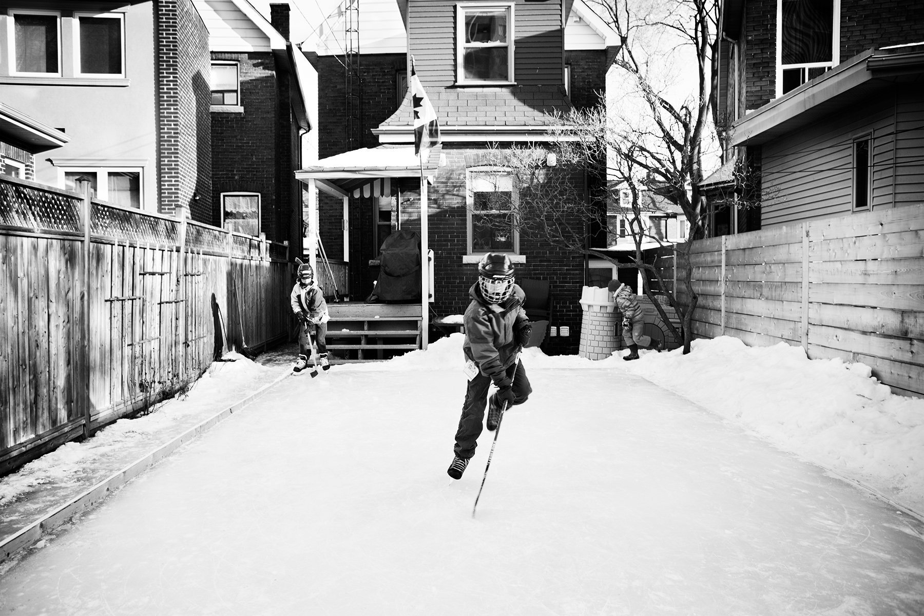 Lynd Avenue Backyard Rink
