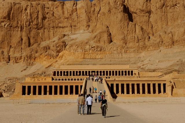 Deir el-Bahri: Temple of Hatsheput