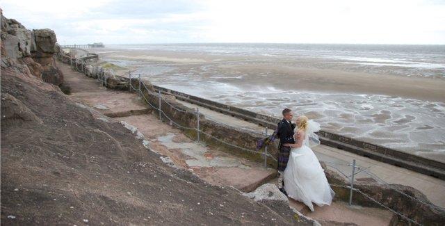 Blackpool sea front