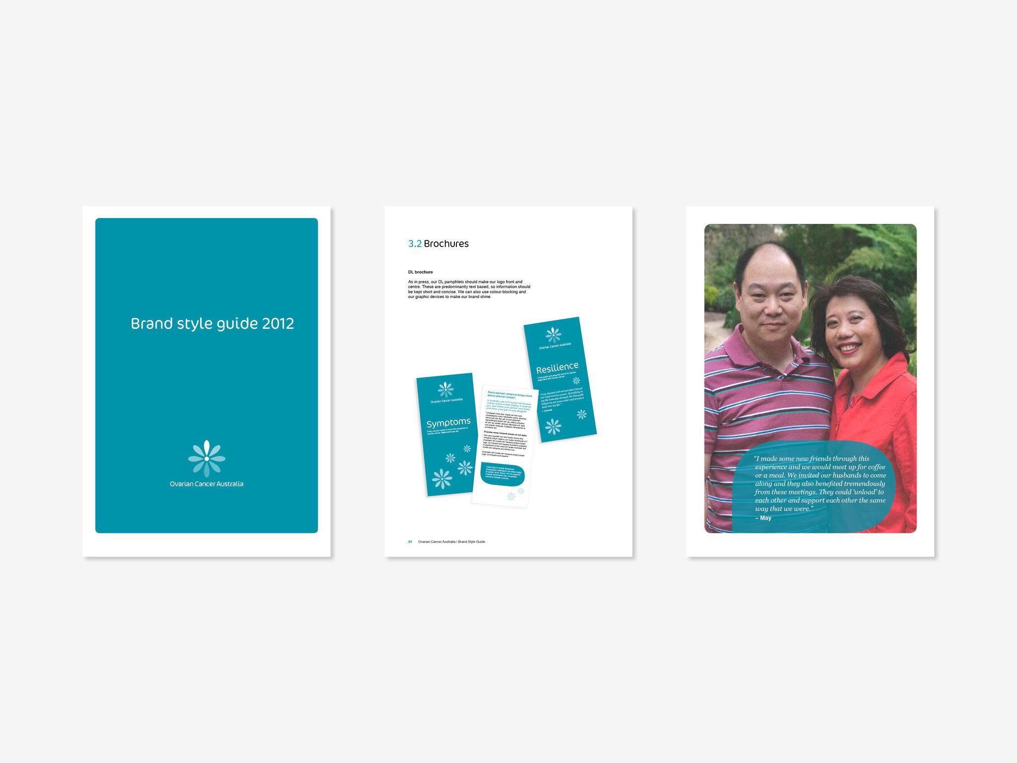 Ovarian Cancer Australia Rebrand