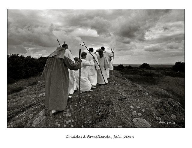 Une Bretagne en noir et blanc