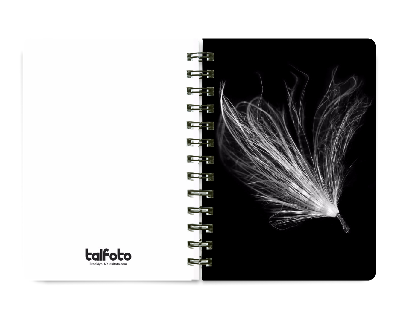 NEW 5x7 Spiral Notebook NB06