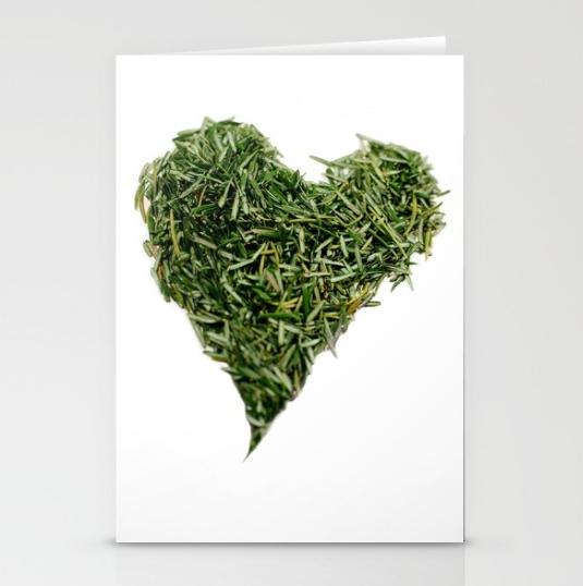 P29 Heart Holiday Notecard *NEW
