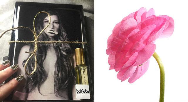 NEW Card & Perfume Gift Set