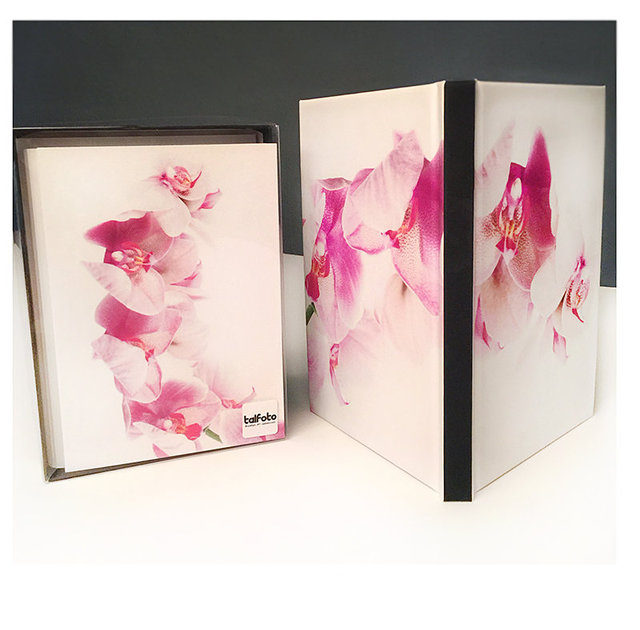 NEW 6x8 Hardcover Notebook Lined #NB07 + Orchid Box Set New