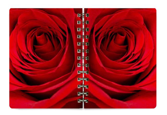 NEW 5x7 Spiral Notebook #NB07