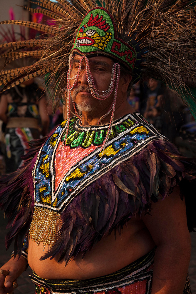 Man in costume, Mexico