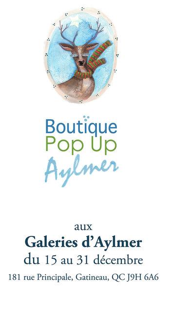 Boutique Pop Up Aylmer