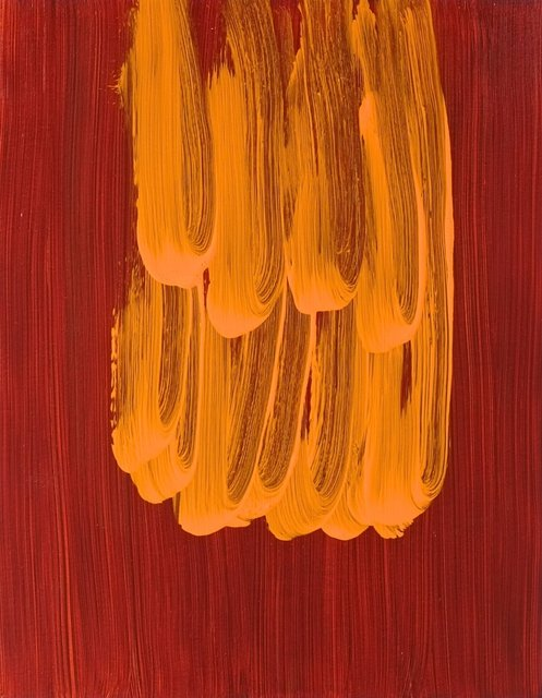 Orange on red Earth. 2014.