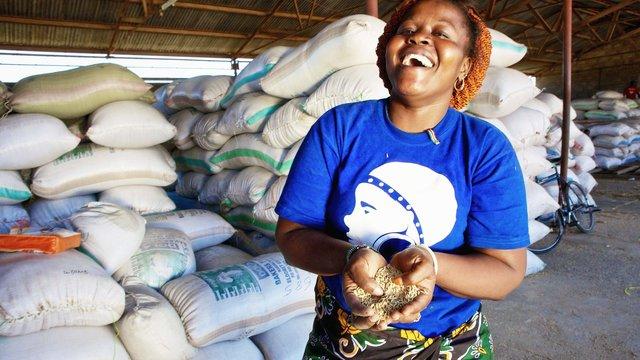 Business woman from Kano, Kisumu County