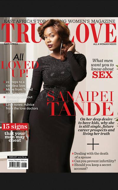 Cover shot - Sainaipei Tande for  True Love East Africa magazine