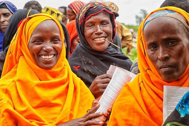 Hunger Safety Net Programme registration in Marsabit, Kenya 2