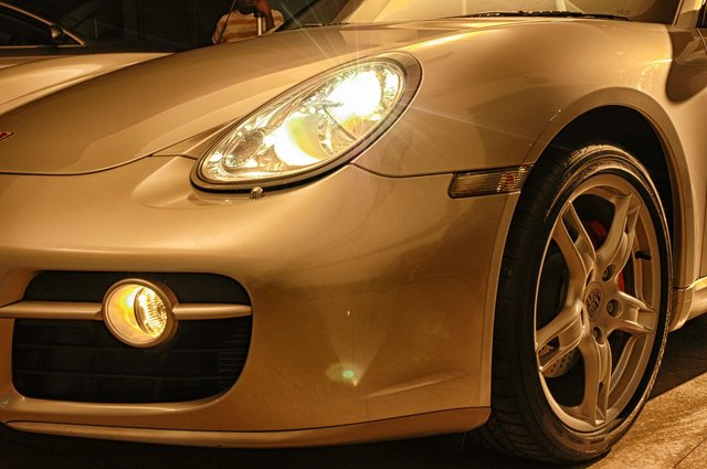 Porsche Cayman S - shot in Nairobi Kenya