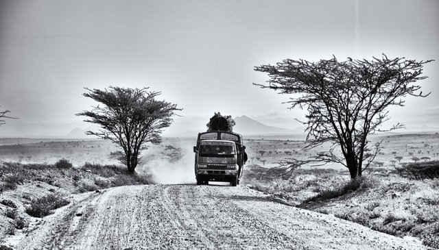 Travelling through Africa
