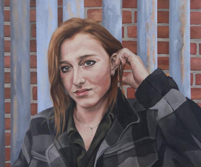 Portrait of Meg- 2019
