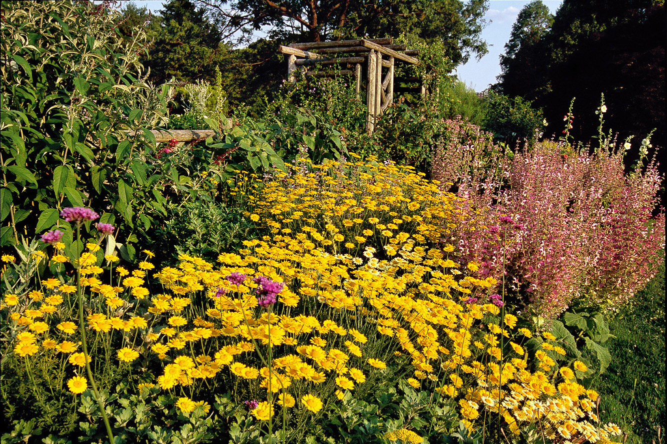 Wave Hill Flower Garden