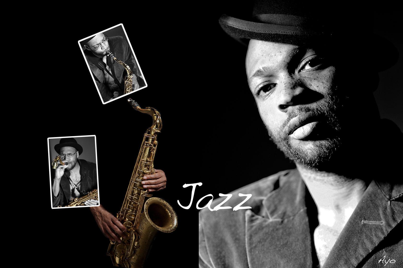Mindblowing saxophone player