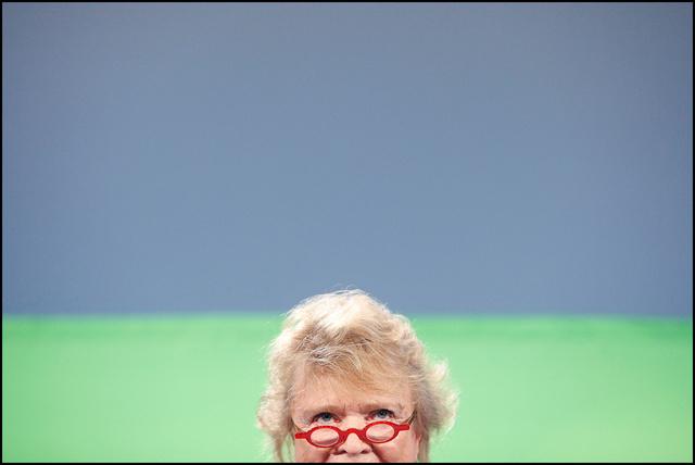 Eva Joly, candidate EELV aux présidentielles 2012