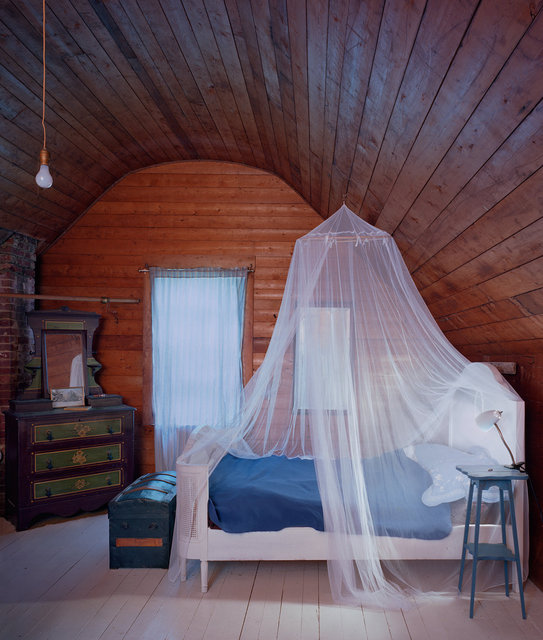Untitled Interior (white bed), 2008