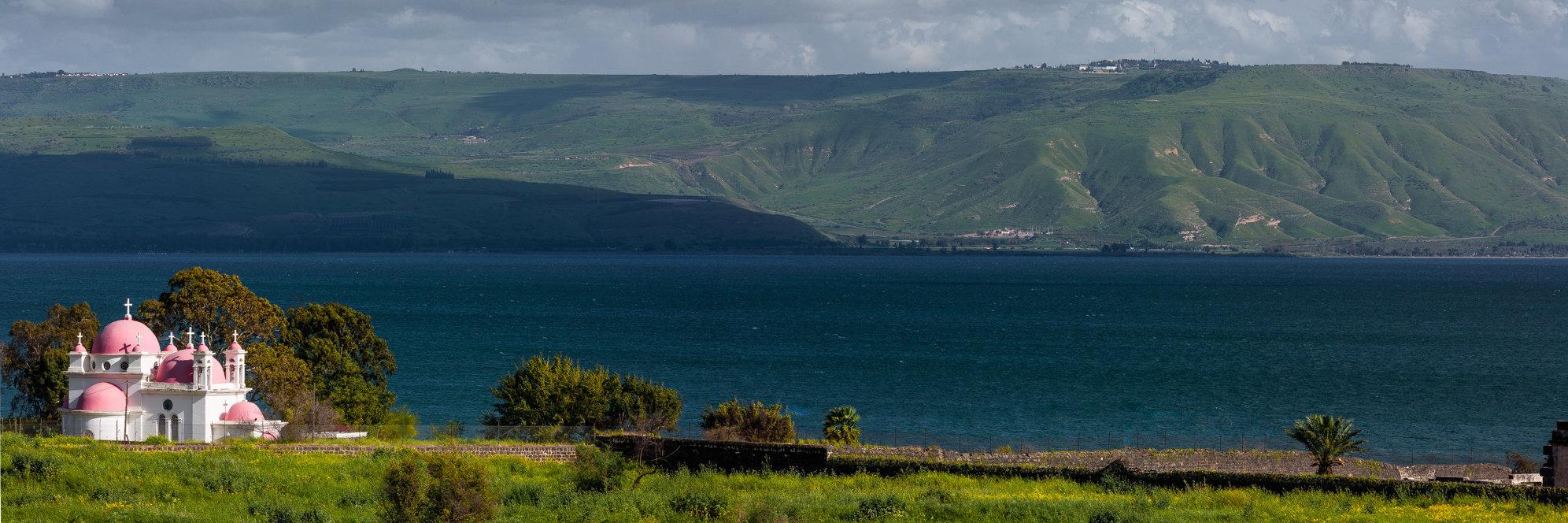 Israël, Galilée, Capharnaüm, Lac de Tibériade