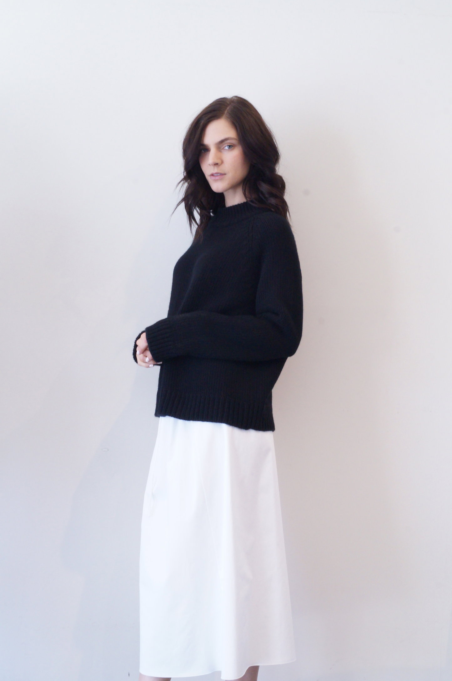 sephin top in black cashmere   1590.00