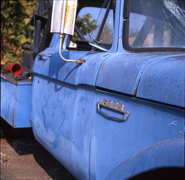 Blue Ford Truck big